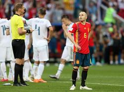 Das WM-Spiel gegen Russland war Andrés Iniestas letzter Einsatz für Spaniens Nationalmannschaft