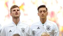 Timo Werner und Mesut Özil standen bei der WM Seite an Seite