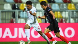 Jadon Sancho debütierte im Dress der Three Lions