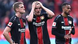 Bei der Werkself aus Leverkusen läuft gerade nichts nach Plan