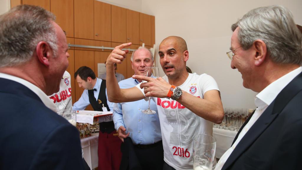 Pep Guardiola wechselte 2016 vom FC Bayern zu Manchester City