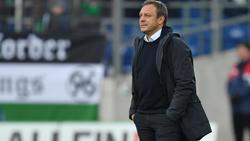 André Breitenreiter gerät in Hannover immer weiter unter Druck