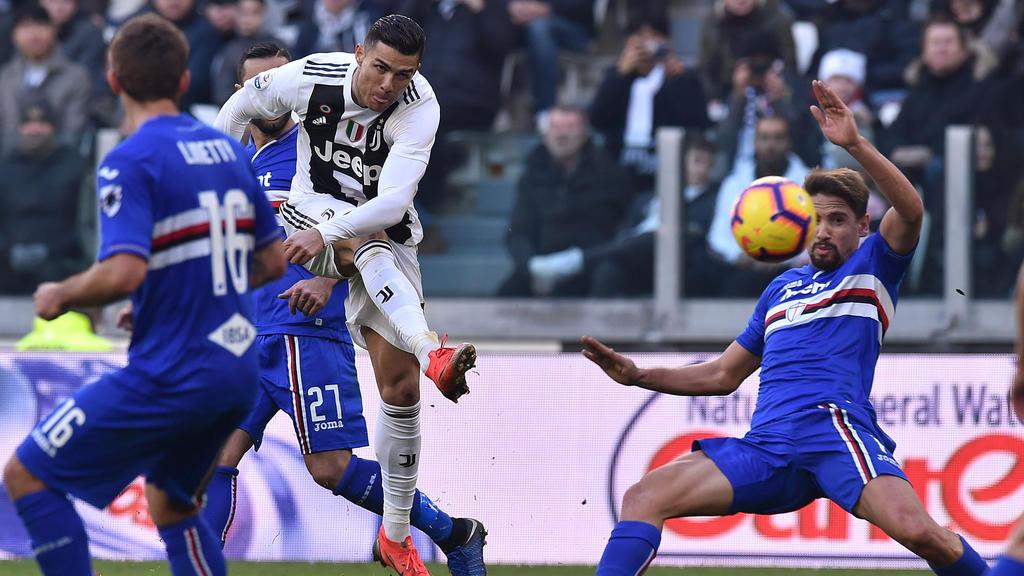 Spielt seit Sommer 2018 für Juventus: Cristiano Ronaldo