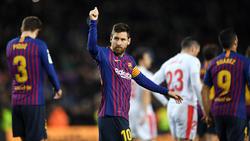 Lionel Messi hat Geschichte geschrieben