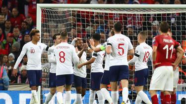 England feiert Kantersieg in der EM-Qualifikation