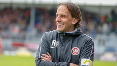 Rüdiger Rehm glaubt an den Aufstieg mit dem SV Wehen Wiesbaden