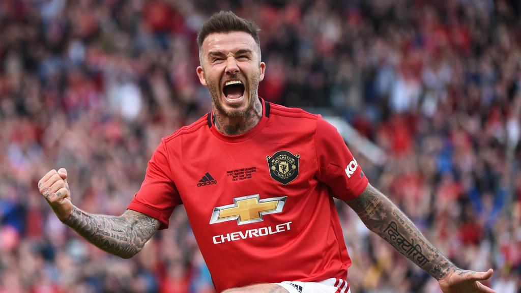 David Beckham erzielte das 5:0 gegen den FC Bayern