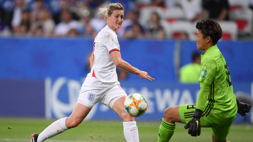 Ellen White traf doppelt gegen Japan