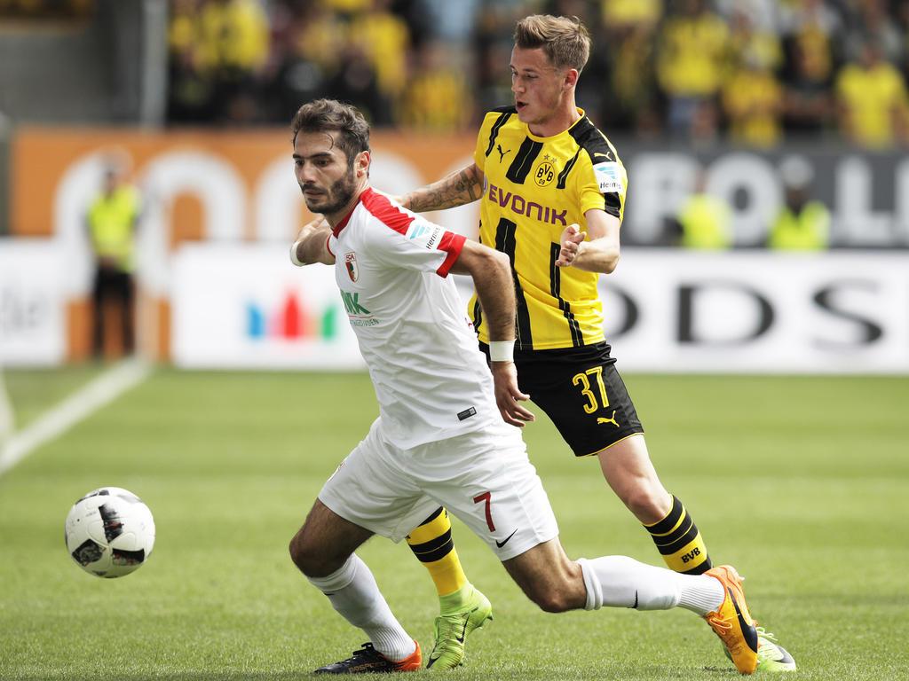 Borussia Dortmund patzt beim FC Augsburg