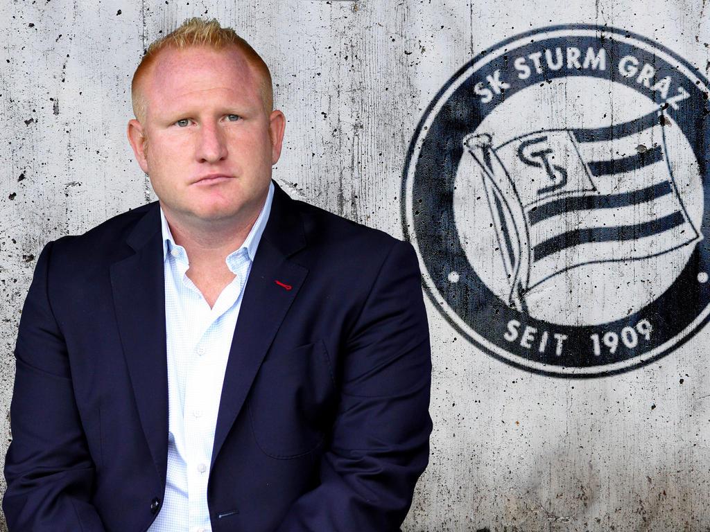 Trainer Heiko Vogel tritt bei Sturm Graz die Nachfolge von Franco Foda an