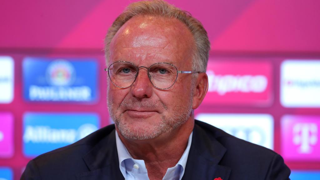 FC Bayern: Karl-Heinz Rummenigge gibt sich optimistisch