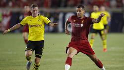 Jacob Bruun Larsen (l.) spielt seit 2015 für den BVB