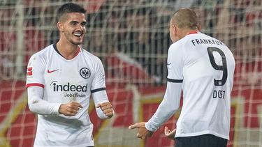 André Silva ha retomado su mejor nivel en Alemania.