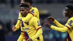 Wunderkind Ansu Fati ist jüngster Torschütze der Champions League