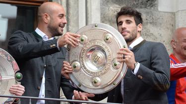 Pepe Reina (l.) spielte einst beim FC Bayern