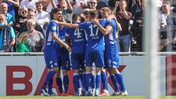 Der FC Schalke 04 steht in der zweiten Pokalrunde