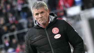 Friedhelm Funkel bei Fortuna Düsseldorf vor dem Aus?