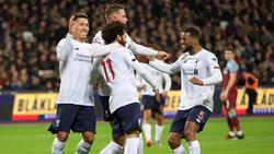FC Liverpool feiert 15. Sieg in Folge in der Premier League