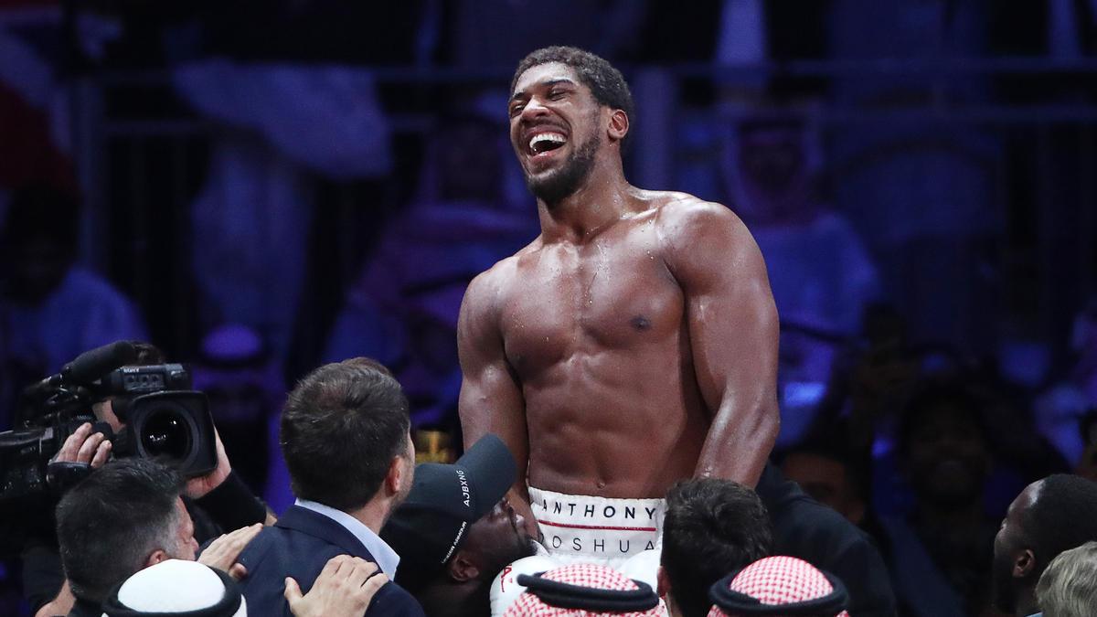 Anthony Joshua boxt 2021 gegen Tyson Fury