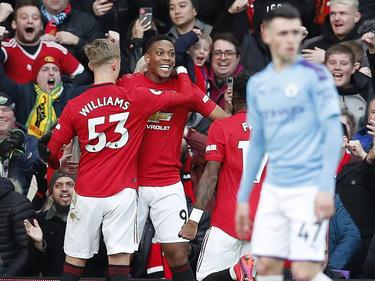 El United no encuentra rival en los derbis de la ciudad.