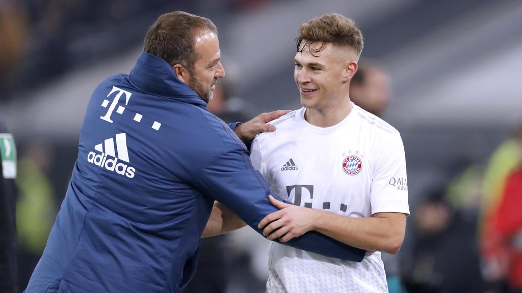Hansi Flick und Joshua Kimmich treffen mit dem FC Bayern München auf den FC Chelsea