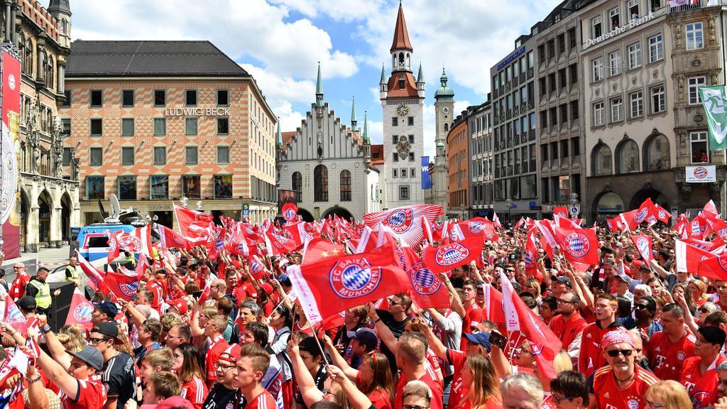 Bayern Meisterfeier