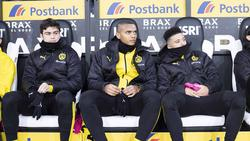 Fehlt dem BVB bei RB Leipzig: Manuel Akanji (M.)
