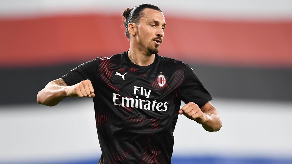 Zlatan Ibrahimovic will bis zu seinem 40. Geburtstag spielen