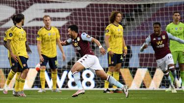 Aston Villa spielte gegen den FC Arsenal nicht wie ein Absteiger