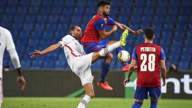Bas Dost und Eintracht Frankfurt sind in der Europa League gescheitert
