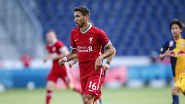 Weiter ein Thema bei Hertha BSC: Marko Grujic vom FC Liverpool
