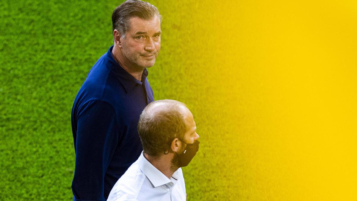Unzufrieden mit der Leistung des BVB: Michael Zorc