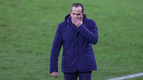 Frust beim FC Schalke 04 nach dem Remis gegen den VfB Stuttgart