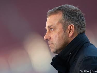 Münchens Trainer Hansi Flick peilt einen Heimsieg im Schlager an