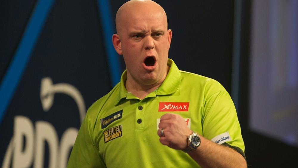 Michael van Gerwen gewinnt klar