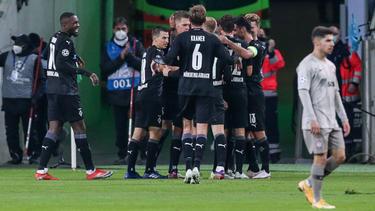Nach vier Spieltagen ist Gladbach immer noch ungeschlagen und Spitzenreiter der Gruppe B