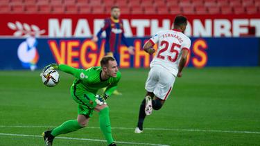 Verlor mit dem FC Barcelona gegen BVB-Gegner FC Sevilla: Marc-André ter Stegen