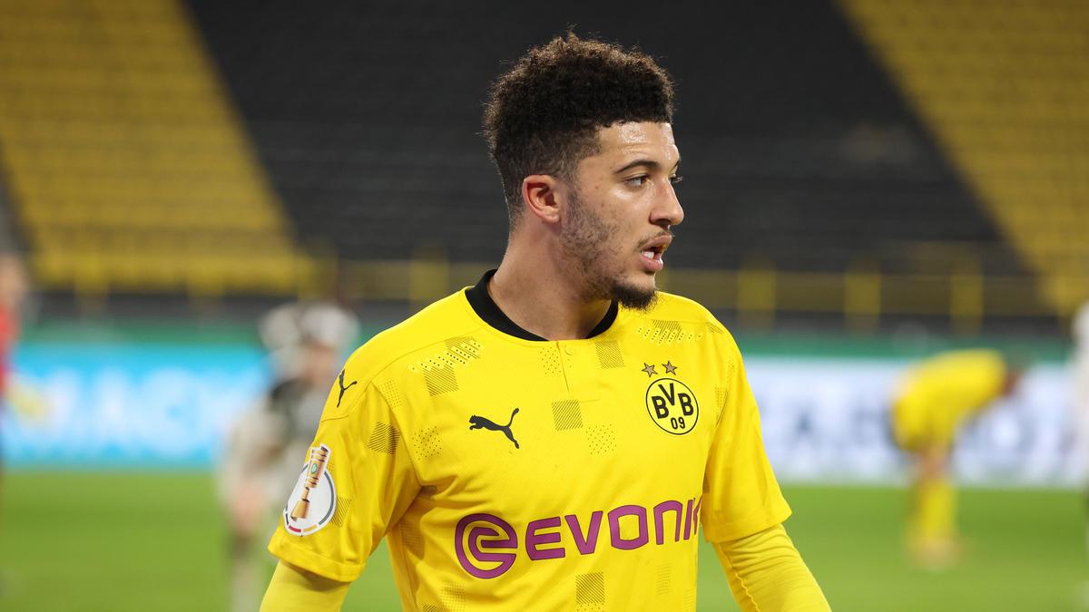 Jadon Sancho steht beim BVB unter Vertrag
