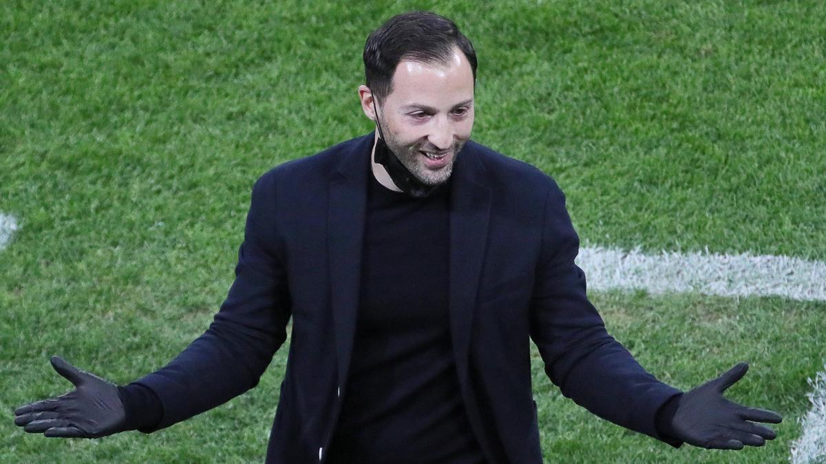 Domenico Tedesco steht wohl beim FC Schalke 04 auf dem Zettel