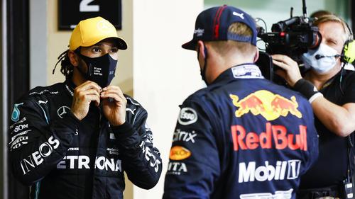 Max Verstappen (re.) kann Lewis Hamiltons Leistungen anerkennen