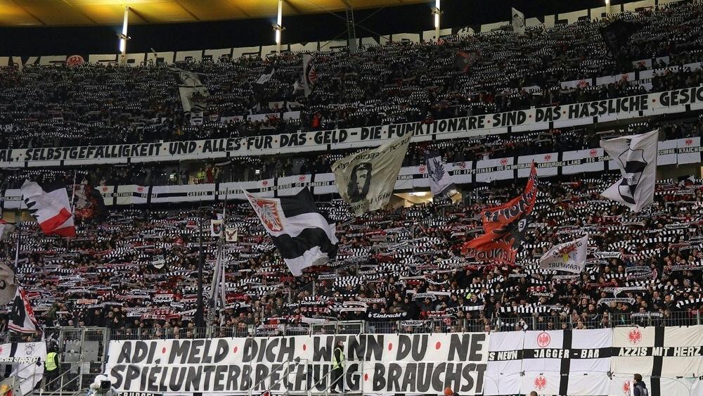 """Fans von Eintracht Frankfurt sind laut Umfrage die """"geilsten"""""""