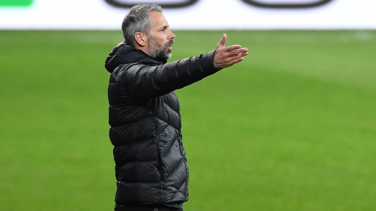 Stellt sich schützend vor seine Mannschaft: Gladbach-Coach Marco Rose