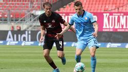 Der VfL Bochum kam nur zu einem Remis beim 1. FC Nürnberg