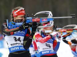 Vanessa Hinz - Biathlon in Ruhpolding 2016