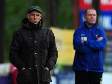 Paul Tisdale, entrenador del Exeter