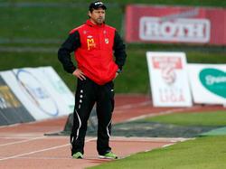 Austria Lustenaus Trainer Helgi Kolviðsson will zum hundertjährigen Klub-Jubiläum aufsteigen