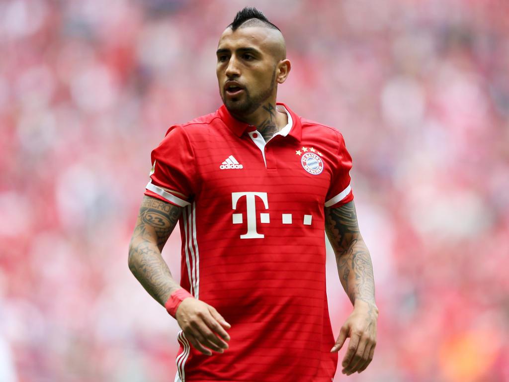 Arturo Vidal, uno de los jugadores con problemas físicos en el Bayern. (Foto: Getty)