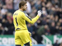 Tim Krul könnte bald bei Ajax Amsterdam zwischen den Pfosten stehen