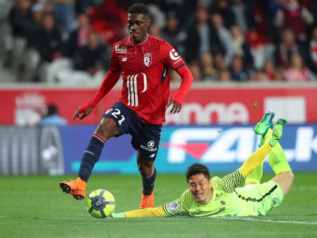 Yves Bissouma könnte bald ein Schalker werden (Quelle: Twitter - @Yves_Bissouma)