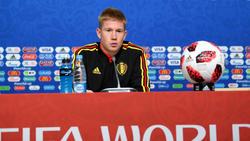 Belgiens Kevin De Bruyne möchte die Chance Weltmeister zu werden ergreifen